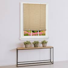 Details About Two Tone Oval Cordless Rollup Light Filtering Window Blinds Shades