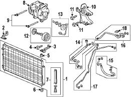 parts com® honda compressor partnumber 38810rgla02 2011 honda odyssey touring v6 3 5 liter gas compressor