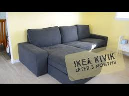 our ikea kivik after 3 months you