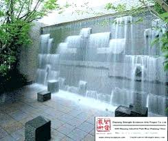 large outdoor wall fountains water fall stone fountain china diy