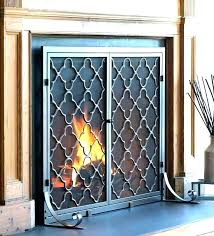 barn door fireplace screen fireplace screen and glass doors fireplace doors with screen s fireplace screen barn door fireplace