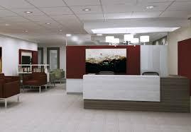 office reception interior. Reception Area Design, Toronto Office Interior