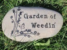 engraved garden stones. Custom Engraved Small Garden Stone - 5-7\ Stones