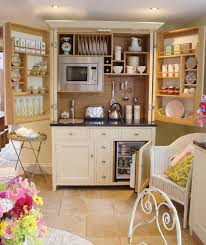 Narrow Kitchen Organizing Tiny And Narrow Kitchen Spaces With Wood Door Cabinet
