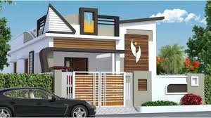Front Elevation Designs For Duplex Houses In India 30 Latest Single Floor House Design Indian House Single