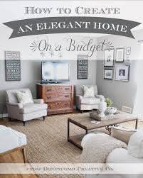 elegant home. Today I Want To Share Some Of My Top Tricks For Finding Elegant Home Furnishings On A Budget, Including What We Scored Our Own House.