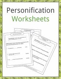 personification examples definition and worksheets kidskonnect the personification examples and worksheets