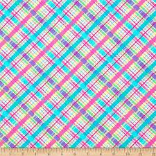 450 best Fabrics images on Pinterest   Mermaid fabric, Mermaids ... & Michael Miller Cute Zoo Lil Bias Plaid Pink from @fabricdotcom Designed for  Michael Miller Fabrics Adamdwight.com