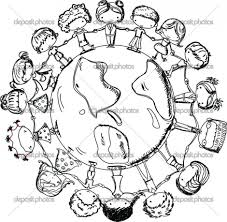 Printable Children Of The World Coloring Pages 99 For Sheets With