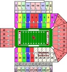 Tu Football Stadium Seating Chart Efficient Oklahoma Stadium Seating Mizzou Football Arena