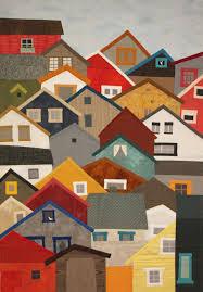 Hillside | Houses, Buildings, Villages Quilt Inspiration ... & Hillside · House QuiltsHouse Quilt PatternsLandscape ... Adamdwight.com