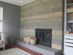 image of faux wall panels wood