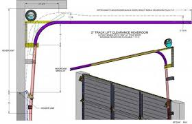 high lift garage door openerDrawings  Schematics  Access Garage Door Company