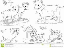 Coloring Pages Farm Animal Color Pages Farm Animals Coloring Pages