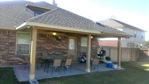 cost to add covered patio building covered