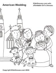 Small Picture Wedding Coloring Pages that are free and Printable