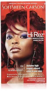 Hi Rez Permanent Hair Color Scarlet
