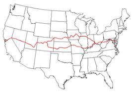 Walk Across America Chart American Discovery Trail Wikipedia