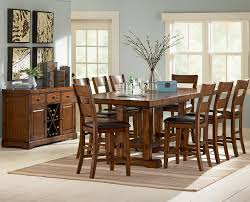 tall round table and chairs counter height extendable dining table counter height table sets