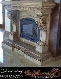 cal cast stone fireplace surround san jose ca