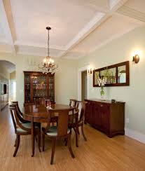 craftsman lighting dining room. Dining Room Buffet Craftsman With Wood Trim Wall Lighting N