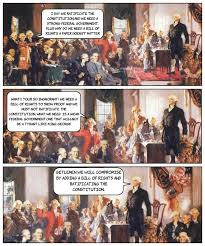 cartoon debate federalist v anti federalist federalist v anti federalist cartoon