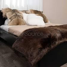 beaver rug real fur rugs at genuine fur rugs