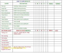 chore chart template for teenagers chore chart template for multiple kids best of best 25 chore charts