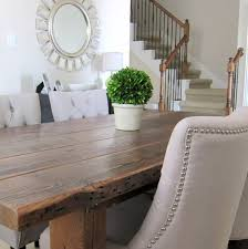 diy wood living room furniture. Contemporary Room Our Dining Room Table We Made From Reclaimed Wood Ideas Diy And Diy Wood Living Room Furniture L