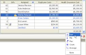 Total And Average Health Care Insurance Cost Per Employee