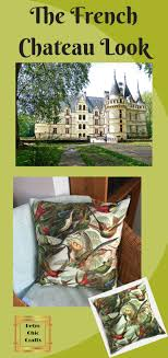 Retro Chic Designer Home Vintage Style Accent Pillow Exclusive Designer Bird Fabric