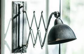 metal accordion lamp wall sconce