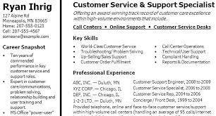 Example Resumes Skills Example Of Resume Skills Section Example