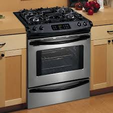 gas stove slide in photos