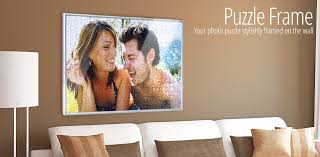 tailor made frame for your photo puzzle