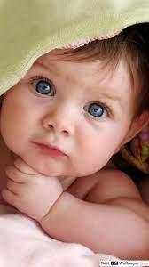 Cute baby staring HD wallpaper download