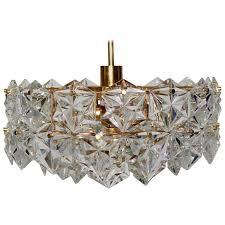 gold plated chandelier by kinkeldey germany circa 1970