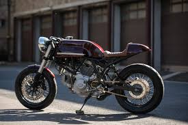 feri s ducati supersport 750 a cafe racer in its most elemental