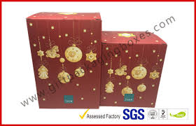 Decorative Gift Boxes With Lids Foldable Corrugated Tin Package Pop Up Decorative Christmas Gift 22