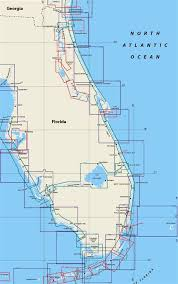Florida Depth Chart Themapstore Florida East Coast Nautical Charts