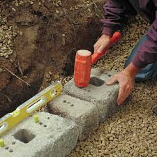 how to install a retaining wall rcp