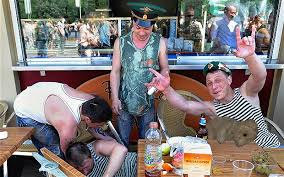 Copy Afp Photo Russians Drinking