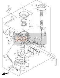suzuki lt f250 ozark 2002 spare parts msp carburetor