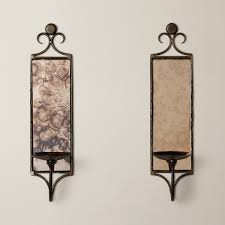 wall sconces image lighting ideas candle sconces pertainingto house mirrored fancy
