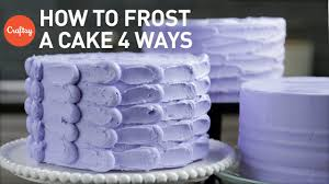 Simple Cake Decorating Designs How to Frost a Cake 100 Easy Finishes Buttercream Cake Decorating 100