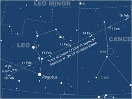 Full Moon Chart 2019 See Comet Iwamotos Dash Through Leo Cancer And Gemini