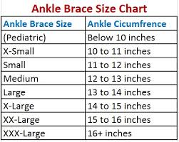 Zamst A2 Dx Size Chart 5 Best Ankle Support Brace For Tennis Lacrosse And Hockey