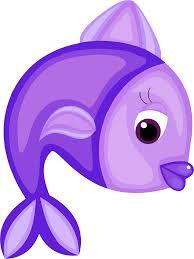 purple fish clip art. Exellent Clip Clipart  Blue Fish Clip Transparent For Purple Clip Art C