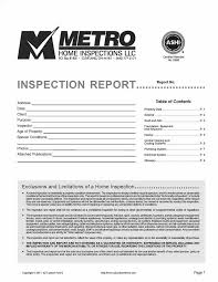 home inspection report template home inspection form standardized home inspection reports home
