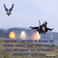 Air Force Quotes Delectable Air Force Poster Gwb48 Usa Military Posters